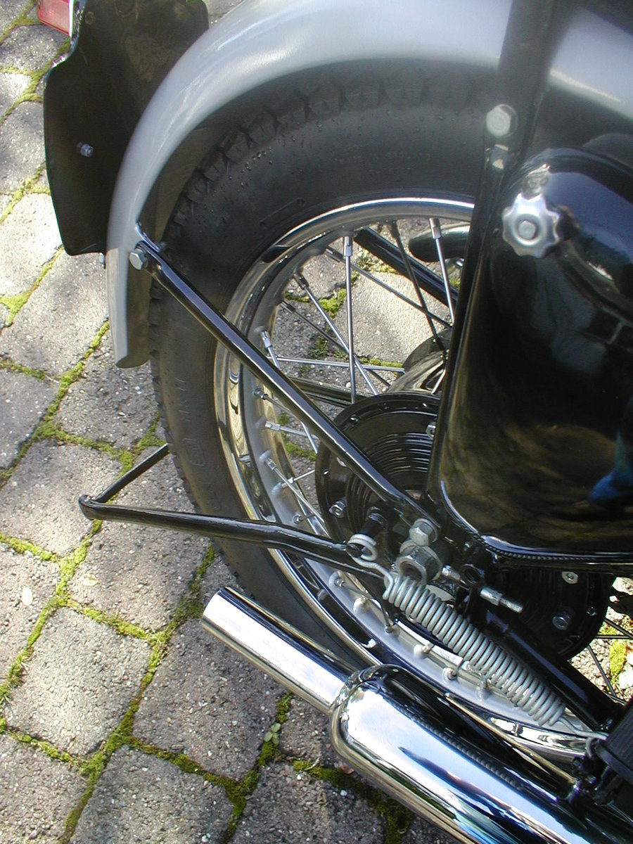 1953 Triumph t100 sprung hub matching numbers For Sale (picture 6 of 6)