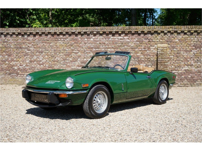 1979 Triumph Spitfire 1500 only 3.966 miles, factory new conditio For Sale (picture 1 of 6)