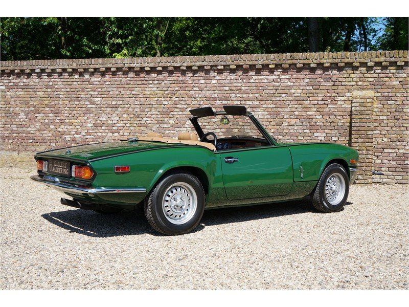 1979 Triumph Spitfire 1500 only 3.966 miles, factory new conditio For Sale (picture 2 of 6)