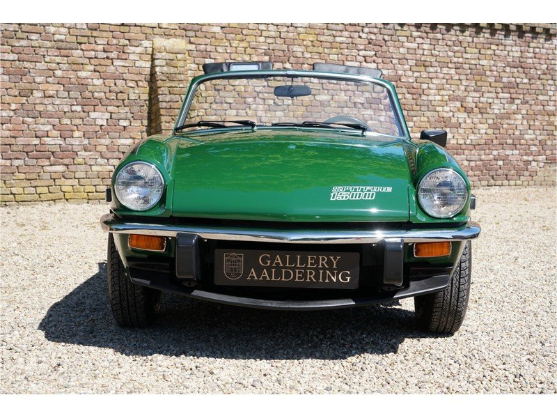 1979 Triumph Spitfire 1500 only 3.966 miles, factory new conditio For Sale (picture 6 of 6)