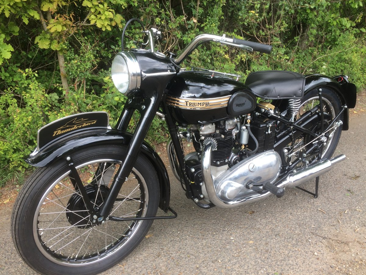 1952 Triumph Thunderbird 6T  SOLD (picture 1 of 1)