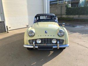 Picture of Triumph TR3A 1958 For Sale