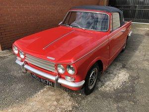1970 Triumph Vitesse Mk2 Convertible Overdrive MkII 2.0