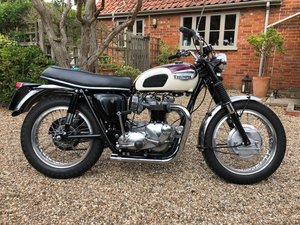 1969 Triumph T120TT Bonneville Evocation