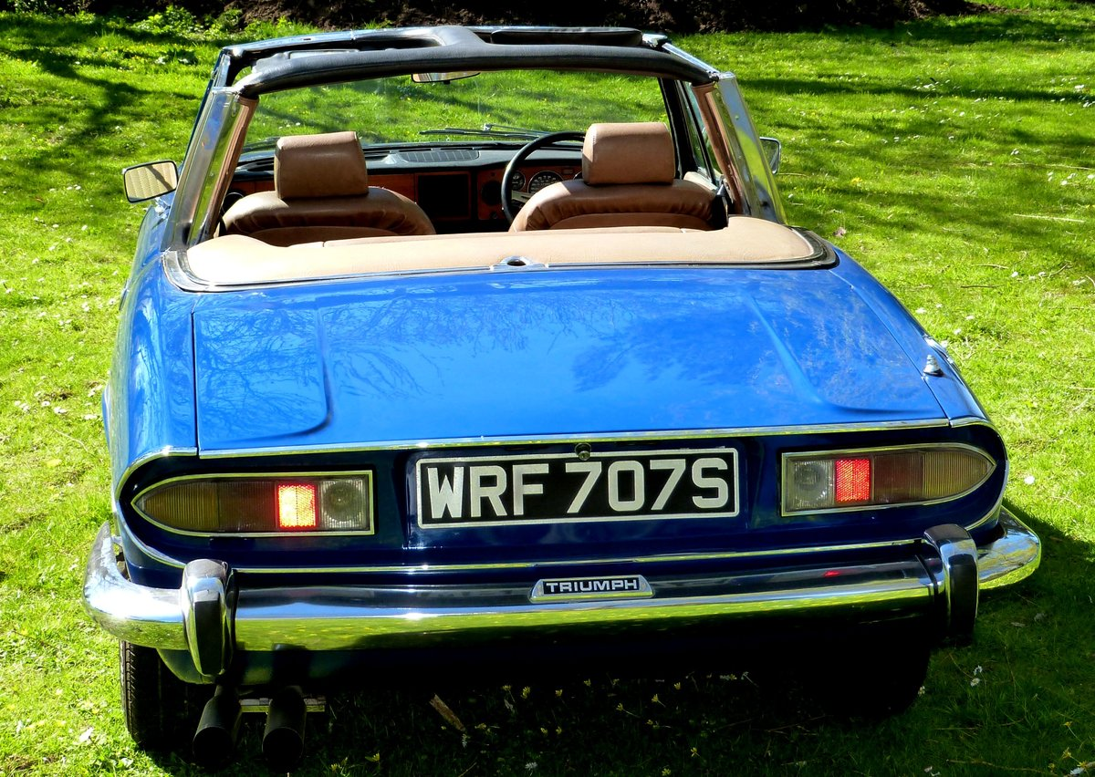 1978 Triumph Stag with brand new engine just run-in. For Sale (picture 2 of 6)