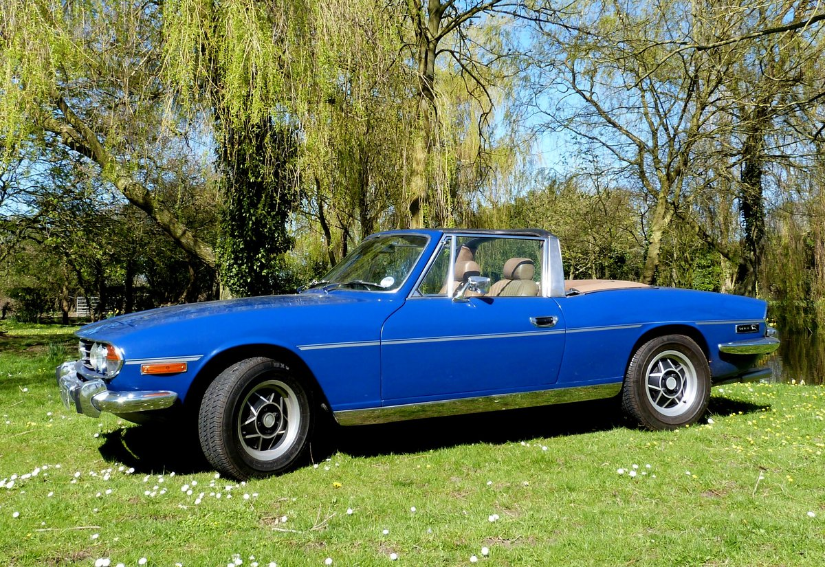 1978 Triumph Stag with brand new engine just run-in. For Sale (picture 3 of 6)