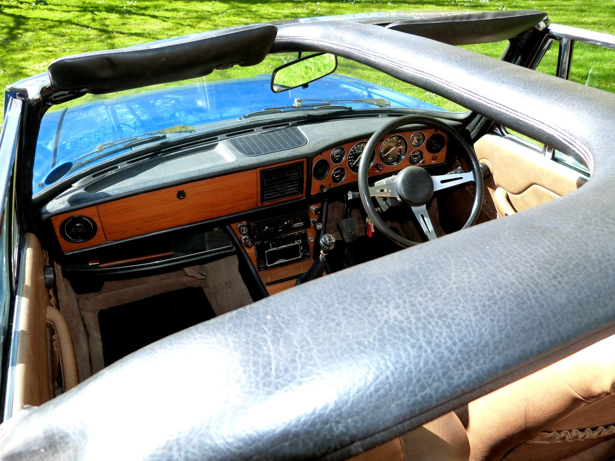 1978 Triumph Stag with brand new engine just run-in. For Sale (picture 4 of 6)