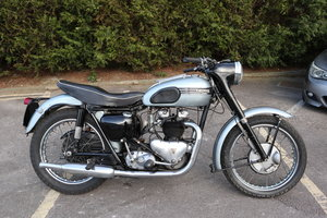 1955 Triumph T110 Pre Unit 650cc Matching Number