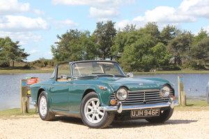 1967 Triumph TR4a IRS surrey top Original UK RHD  SOLD