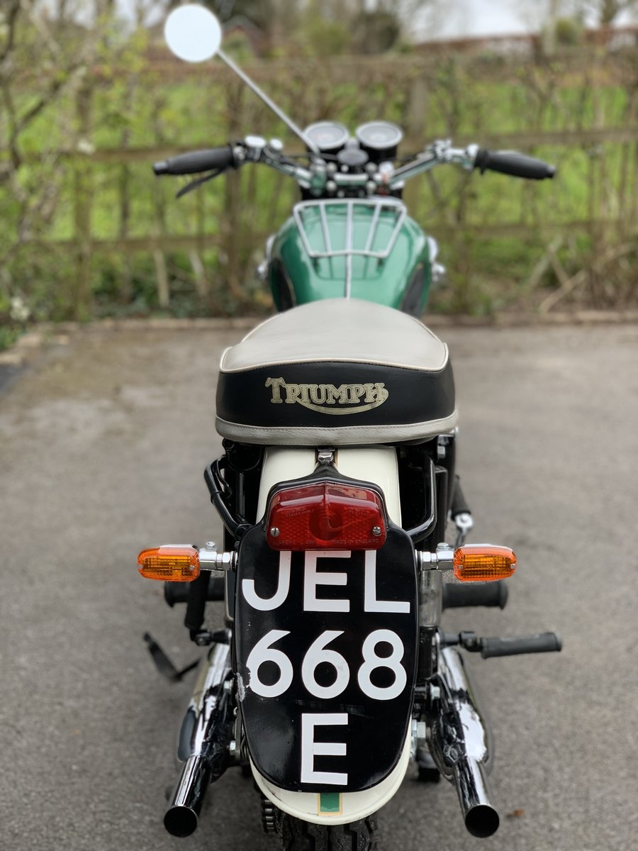1967 Triumph T100 SS For Sale (picture 2 of 5)