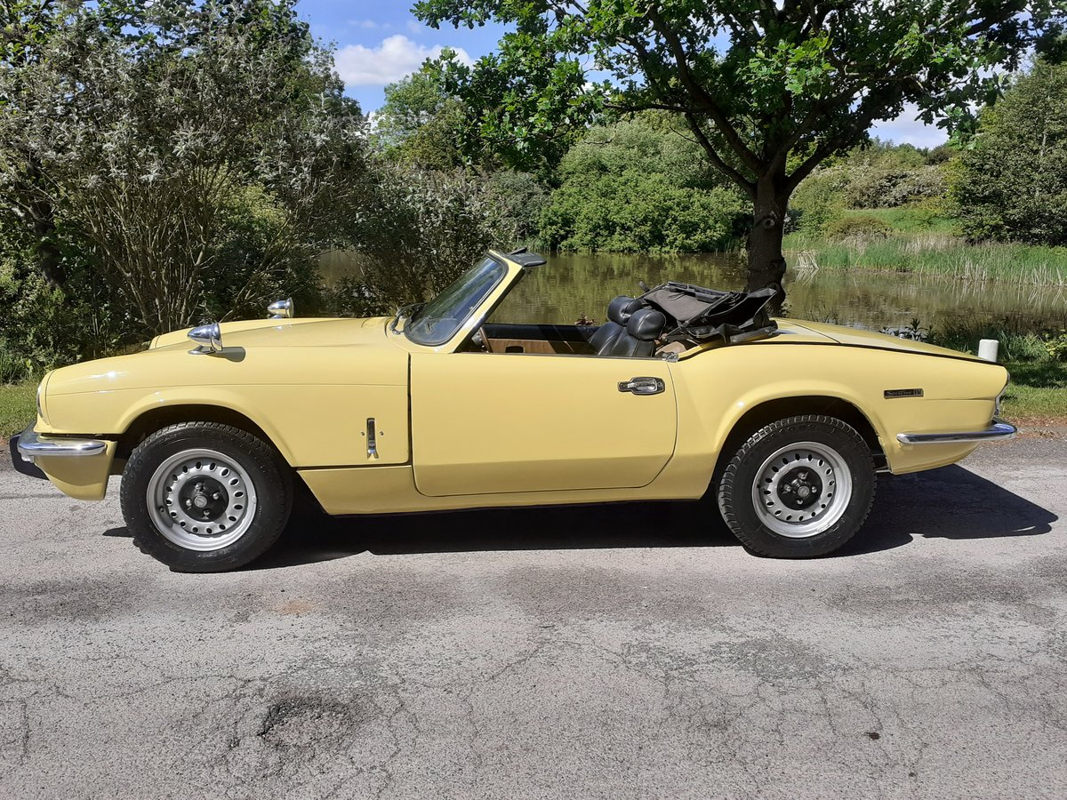 1973 TRIUMPH SPITFIRE MK IV ~ BEAUTIFUL PAINT ~ S/S EXHAUST SOLD (picture 1 of 6)