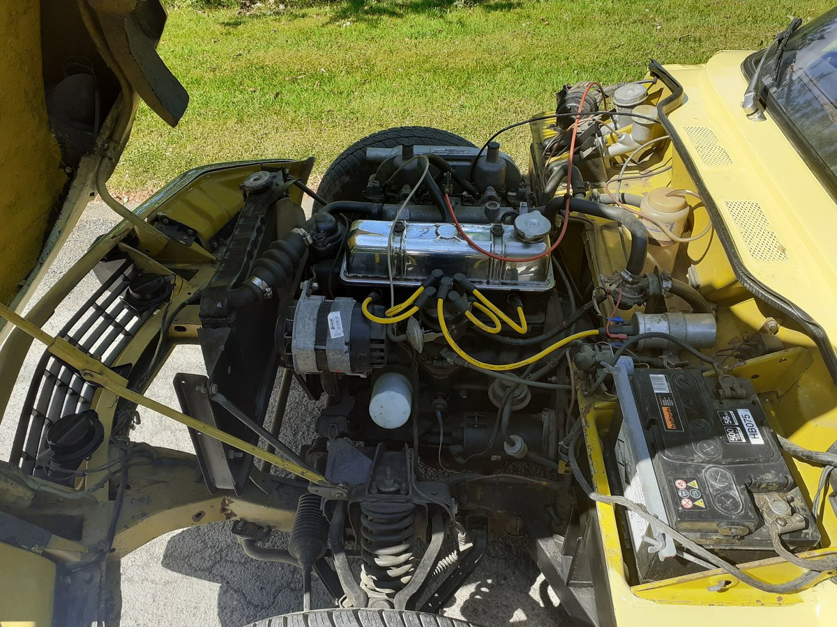 1973 TRIUMPH SPITFIRE MK IV ~ BEAUTIFUL PAINT ~ S/S EXHAUST SOLD (picture 5 of 6)