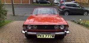 Triumph stag new price