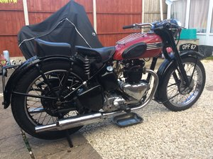 Triumph 3T delux unrestored and unmolested