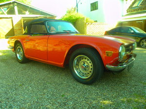 1973 TRIUMPH TR6. Overdrive. Totally restored. For Sale