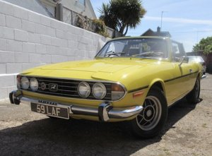 Triumph Stag 3.0 V8 Manual Overdrive