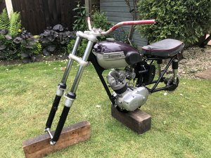 Triumph Tiger cub Trials Project