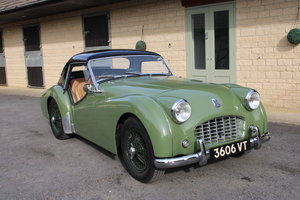 1957 TRIUMPH TR3 SMALL MOUTH (BEST AVAILABLE) – £44,950