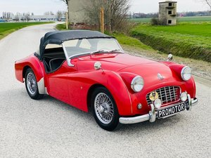 "Picture of 1957 TRIUMPH TR3 ""SMALL MOUTH""*ASI ORO*1000 MIGLIA ELIGIBLE*OVERD For Sale"