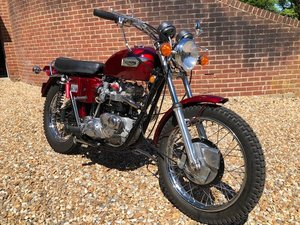 1971 Triumph T120R Re - built