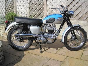 1961 Triumph T120C, Fully Restored - Rare Model
