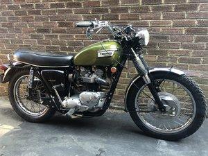 Triumph Trophy 650 tr6c 1970