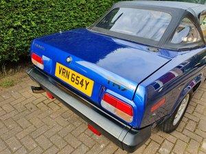 1982 Triumph TR7 New MOT, Tuned engine