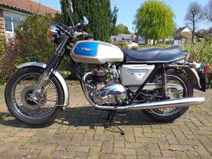 Triumph T140 Bonneville Silver Jubilee 1977 as new