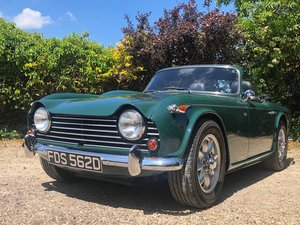 1966 Triumph TR4 IRS  totally rebuilt in 2012