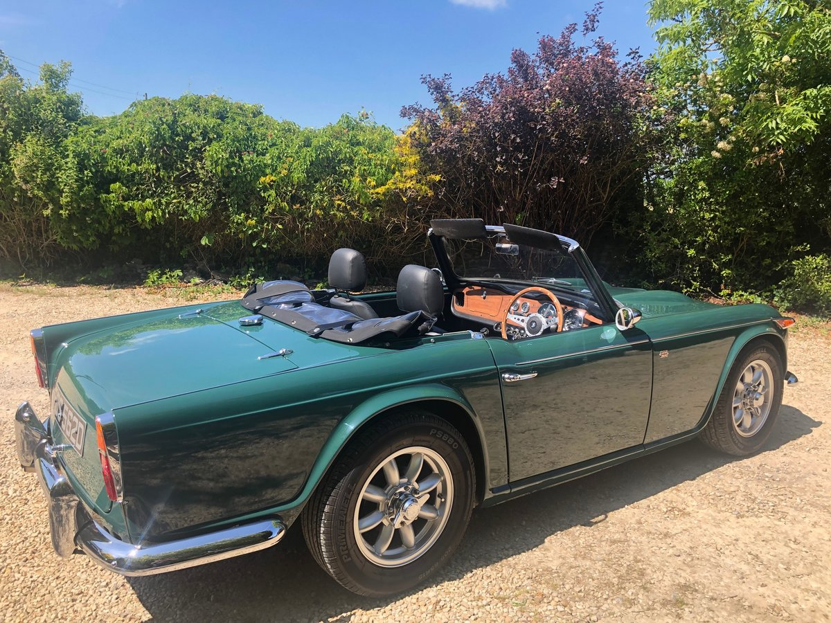 1966 Triumph TR4 IRS  totally rebuilt in 2012  For Sale (picture 4 of 6)
