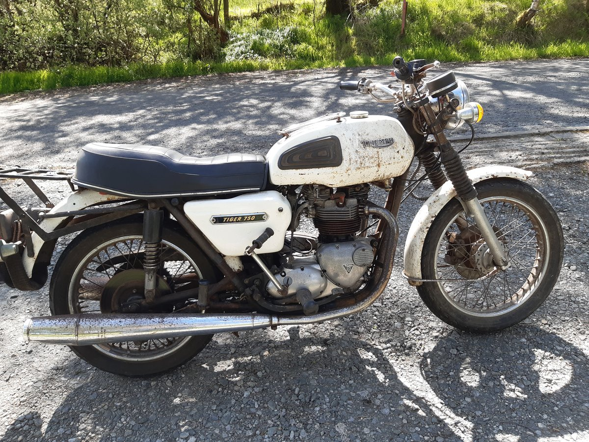 1978 Triumph Tiger t140 750cc An Interesting Example For Sale (picture 4 of 6)