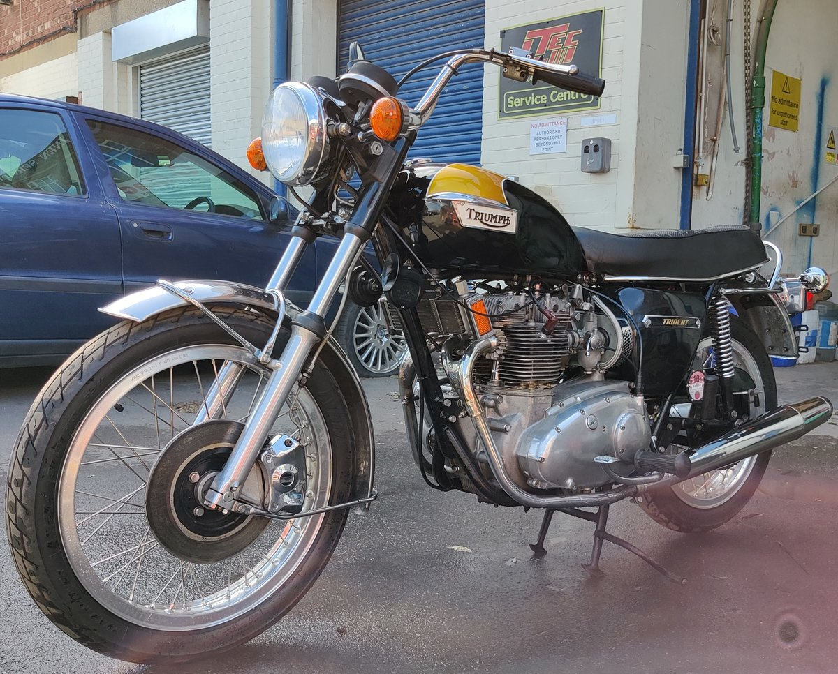 Triumph Trident T150V 1975 T150 SOLD (picture 1 of 6)