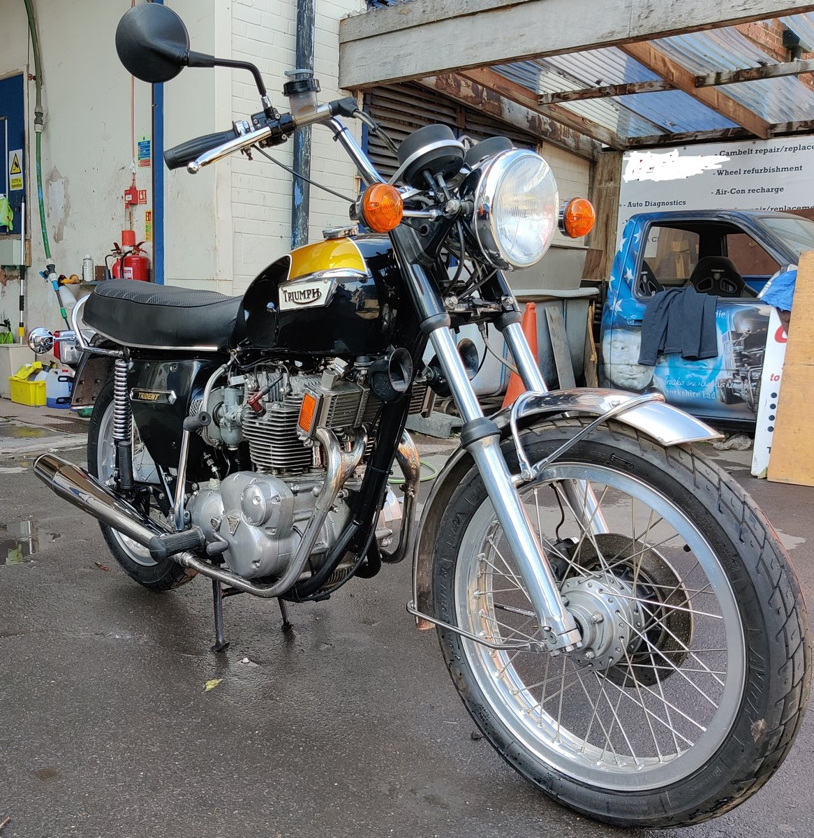 Triumph Trident T150V 1975 T150 SOLD (picture 2 of 6)