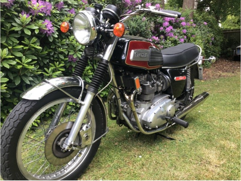 1975 T150v Trident SOLD (picture 4 of 4)