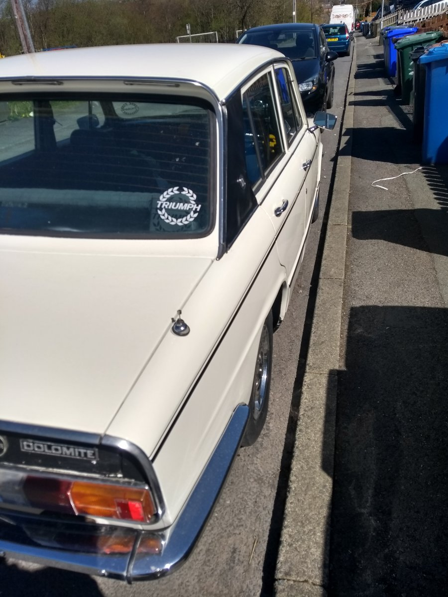 1972 Triumph dolomite 1850 For Sale (picture 4 of 6)