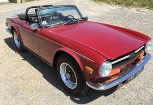 Triumph TR6 Period RUST FREE condition Fast Road