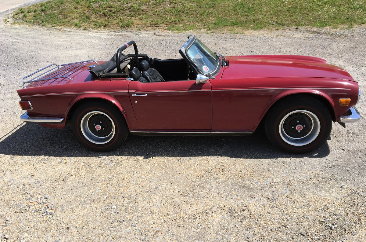 1973 Triumph TR6 Period RUST FREE condition Fast Road For Sale (picture 2 of 6)