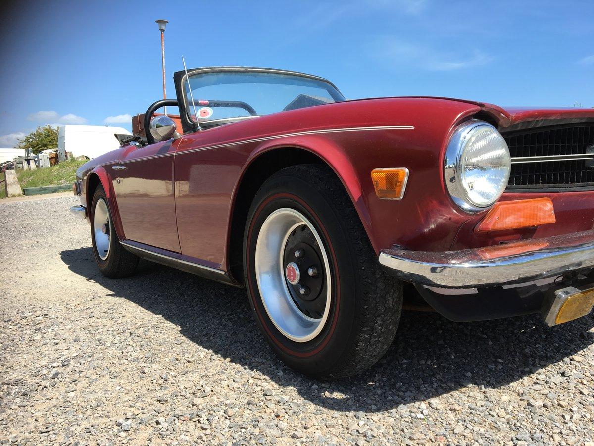 1973 Triumph TR6 Period RUST FREE condition Fast Road For Sale (picture 4 of 6)