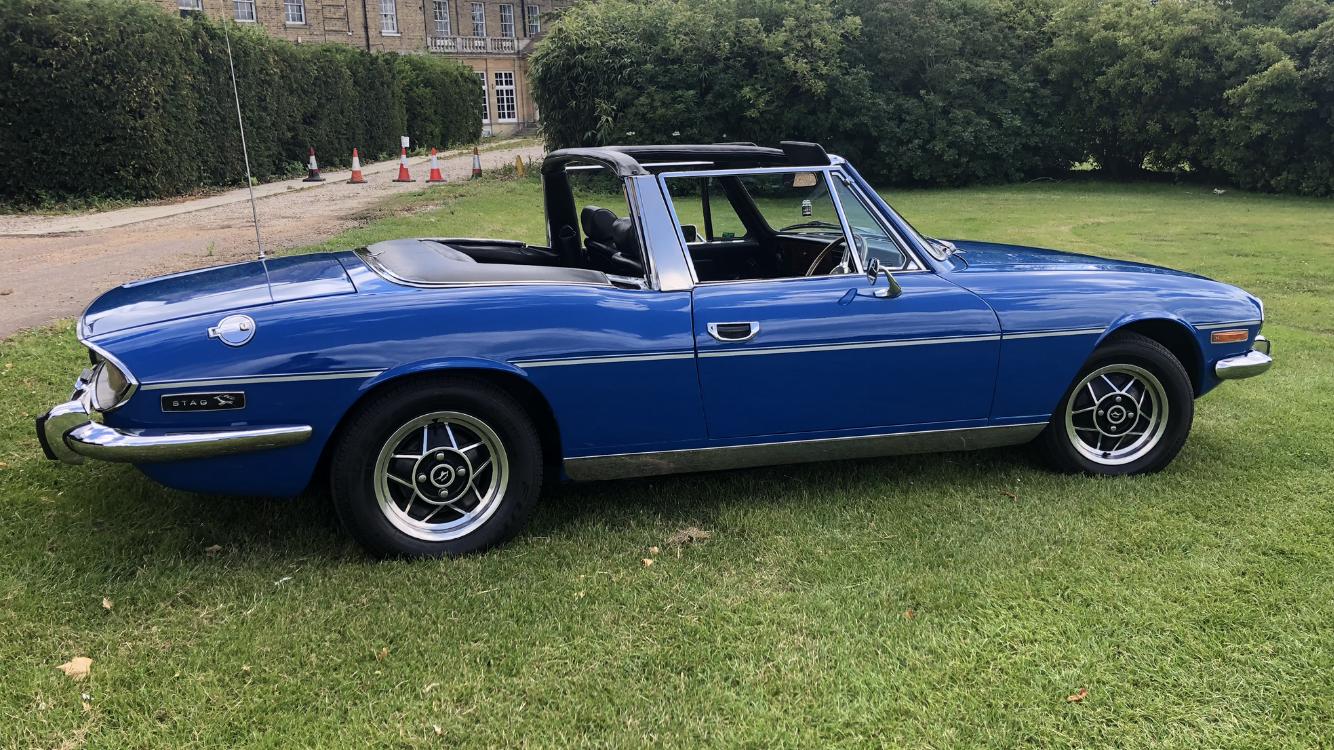 1975  Triumph STAG TAHITI BLUE  For Sale (picture 5 of 6)