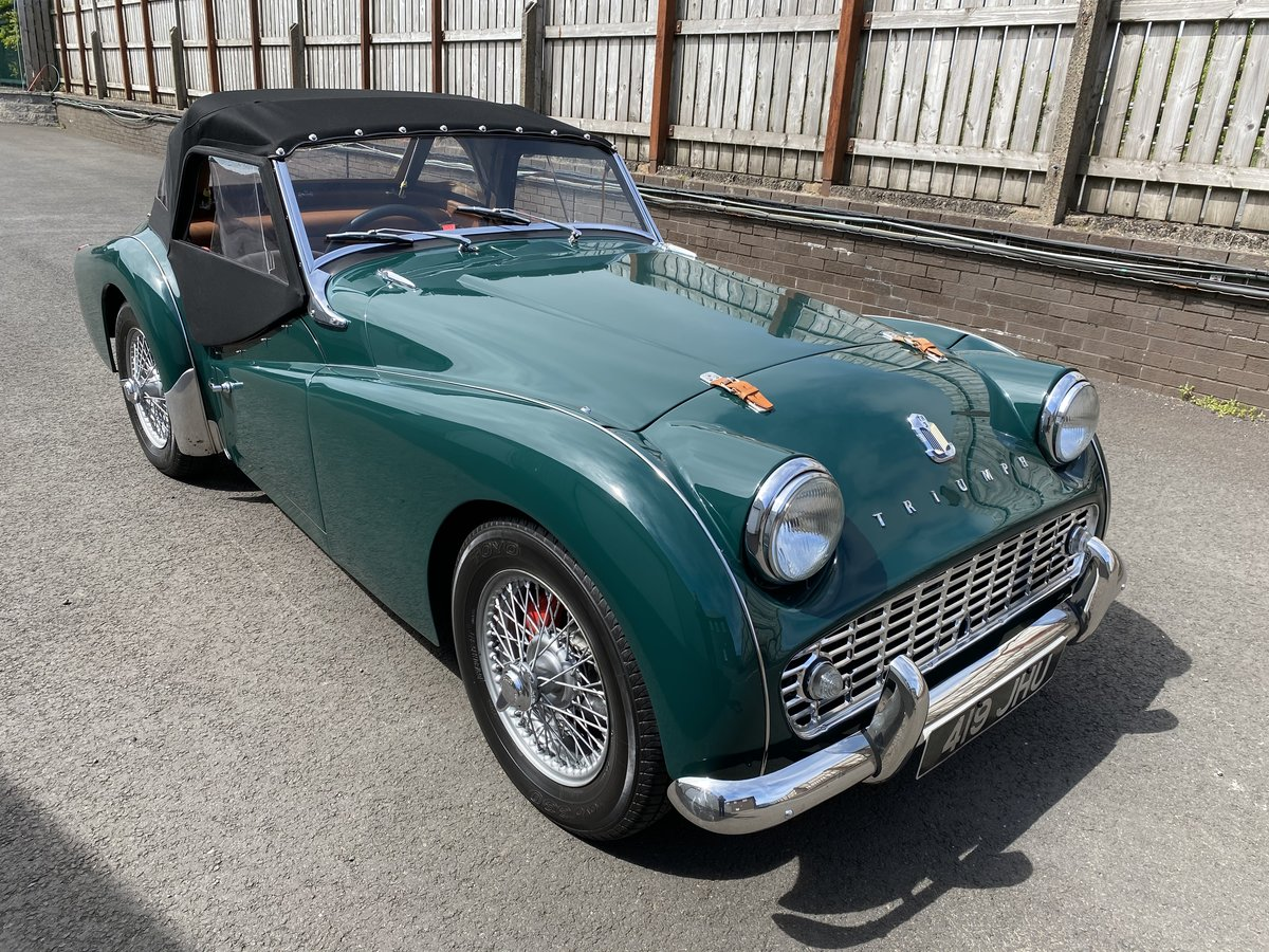 1960 Triumph TR3 A Immaculately Presented  For Sale (picture 1 of 6)
