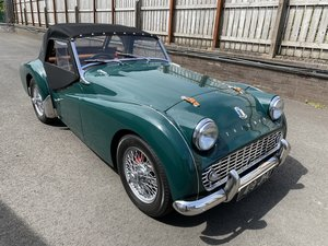 1960 Triumph TR3 A Immaculately Presented