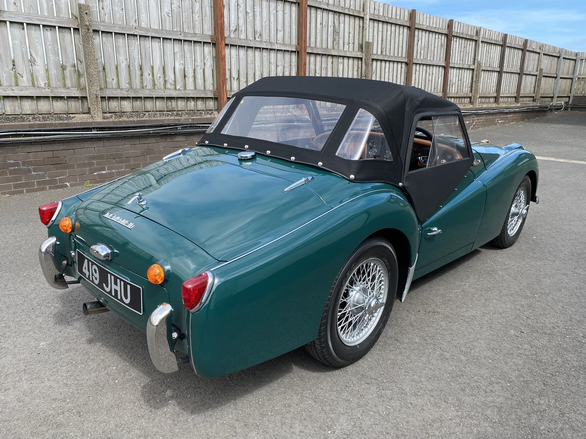1960 Triumph TR3 A Immaculately Presented  For Sale (picture 2 of 6)