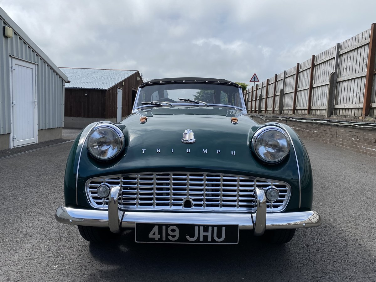 1960 Triumph TR3 A Immaculately Presented  For Sale (picture 3 of 6)