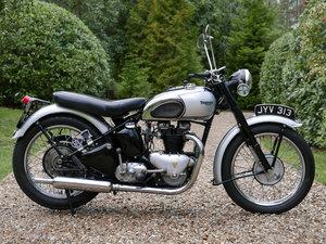 Triumph T100 1948