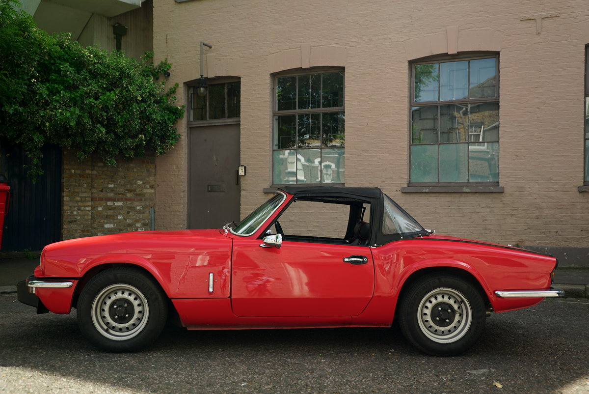 1977 Triumph Spitfire 1500 - DEPOSIT NOW TAKEN SOLD (picture 3 of 6)