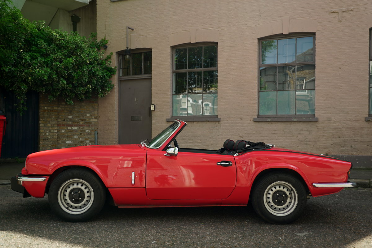 1977 Triumph Spitfire 1500 - DEPOSIT NOW TAKEN SOLD (picture 2 of 6)