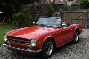 1974 TRIUMPH TR6 P.I. - FRESH FROM HIBERNATION. LOVELY!