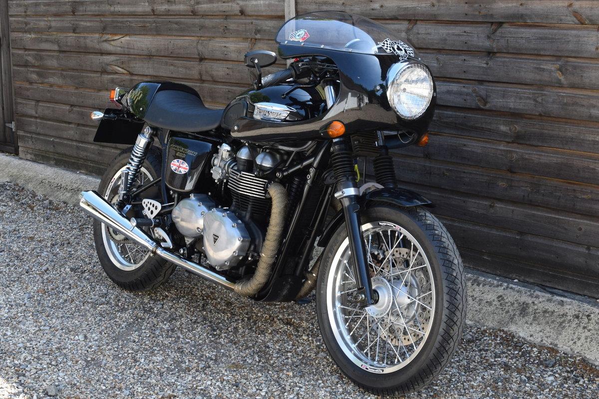 Triumph Thruxton 900 EFi (8000 miles, Great mods !) 2013 P/P SOLD (picture 1 of 6)
