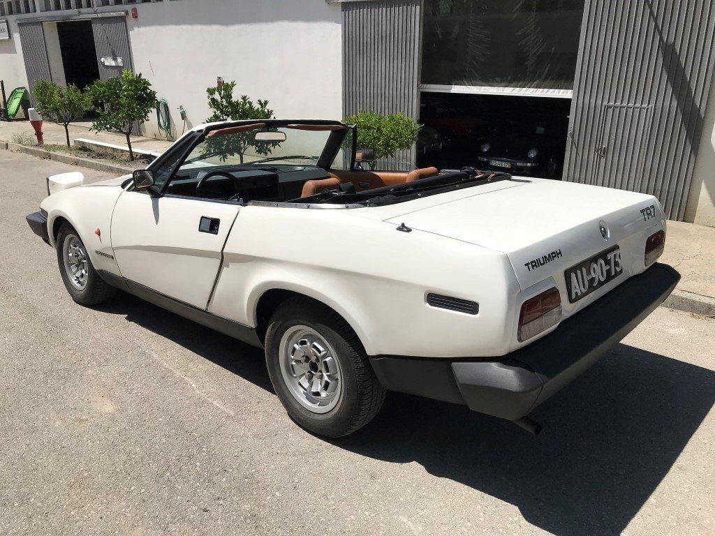 1980 Triumph TR7 Cabrio For Sale (picture 3 of 6)