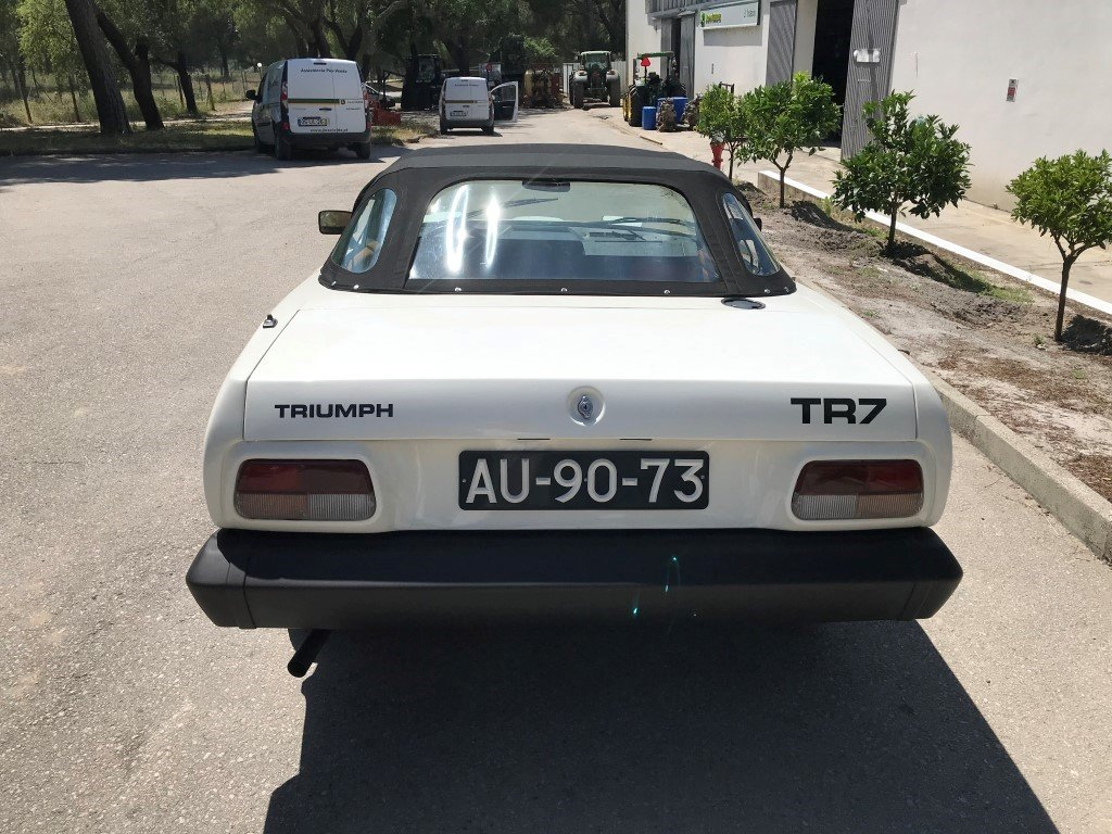 1980 Triumph TR7 Cabrio For Sale (picture 5 of 6)